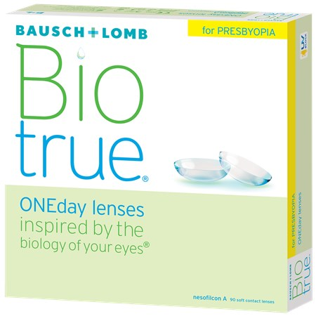 Biotrue ONEday For presbyopia (90/Box)
