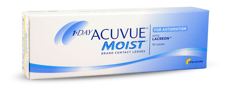 1-Day Acuvue Moist for Astigmatism (30/box)