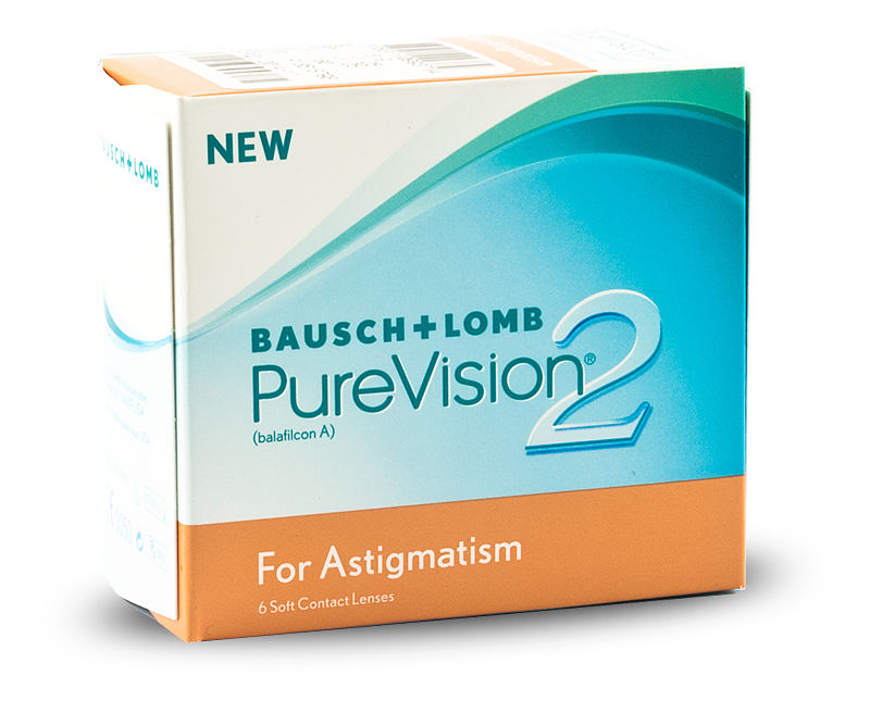 PureVision 2 HD for Astigmatism (6/box)